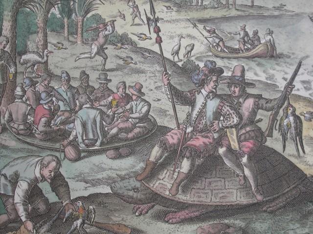 海鳥與海龜常常是船難倖存者賴以  存活的食物來源.JPG
