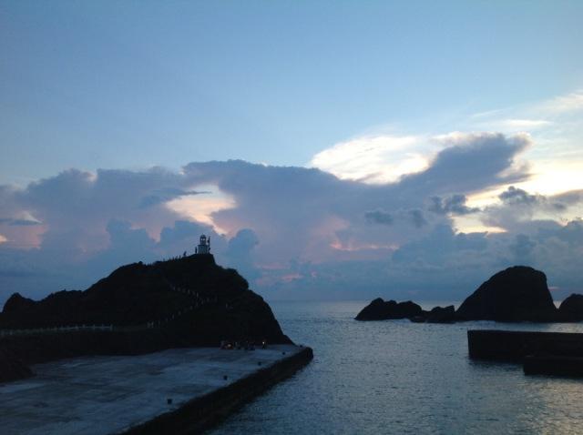 蘭嶼開元港。(照片由作者提供)